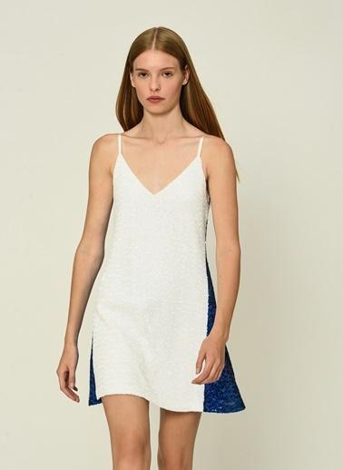 Esra Gürses Elbise Beyaz